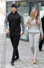 KATIE PRICE and Carl Woods Heading to Stephs Packed Lunch Show in Leeds 04/14/2021