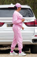 KATIE PRICE Out House Hunting in Hertfordshire 04/02/2021