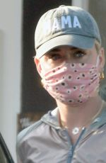 KATY PERRY Out and About in Montecito 04*/21/2021
