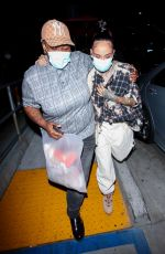 KEHLANI Out on Her 26th Birthday at Beauty & Essex in Hollywood 04/24/2021