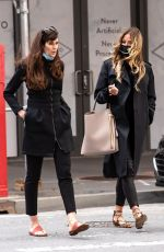 KELLY BENSIMON and CAROL ALT Out in New York 04/22/2021