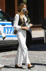 KELLY BENSIMON Out in New York 04/13/2021