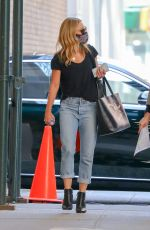 KELLY RIPA in Denim Out in New York 04/07/2021