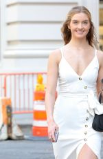 KELSEY SOLES Out and About in New York 04/22/2021