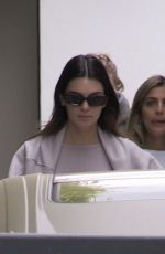 KENDALL JENNER and HAILEY BIEBER Leaves Pilates Class in West Hollywood 04/21/2021