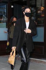 KENDALL JENNER and JOAN SMALLS Leaves Greenwich Hotel in New York 04/26/2021