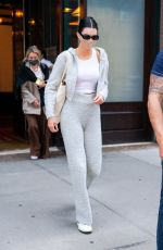 KENDALL JENNER Leaves Greenwich Hotel in New York 04/28/2021
