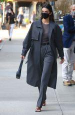 KENDALL JENNER Leaves Her Hotel in New York 04/27/2021
