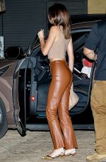 KENDALL JENNER Out for Dinner at Nobu in Malibu 04/18/2021