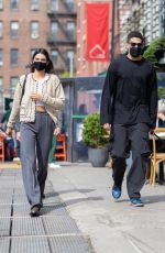KENDALL JENNER Out for Lunch in New York 04/24/2021