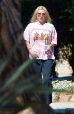 KESHA Out and About in West Hollywood 04/13/2021