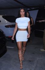 KIM KARDASHIAN at a Party with Friends in Miami 04/15/2021