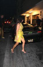 KIM KARDASHIAN Night Out in Miami 04/16/2021