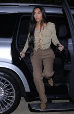 KIM KARDASHIAN Out for Dinner at La Scala in Beverly Hills 04/06/2021