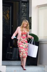 KITTY SPENCER Out Shopping in London 04/14/2021