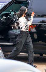 KOURTNEY KARDASHIAN Arrives at Nobu in Malibu 04/22/2021