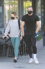KRISTEN BELL at a Pilates Class in Los Angeles 04/09/2021