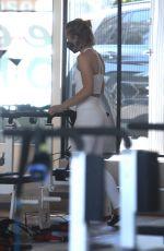 KRISTEN BELL Leaves a Gym in Los Feliz 04/17/2021