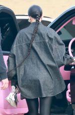KYLIE JENNER Leaves Nobu in Malibu 04/26/2021