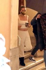 LADY GAGA on the Set of House of Gucci in Rome 04/22/2021