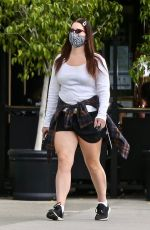LANA DEL REY Out Shopping in Beverly Hills 04/01/2021
