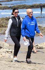 LIBERTY ROSS and Jimmy Lovine Out at a Beach in Malibu 04/25/2021