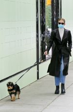 LILI REINHART Out with Her Dog in Vancouver 04/24/2021