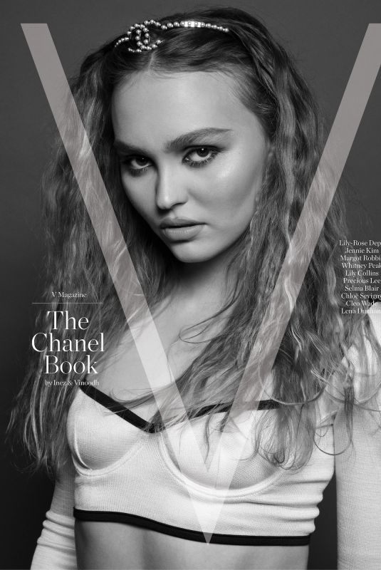 LILY-ROSE DEPP for V Magazine The Chanel Book by Inez & Vinhood 2021