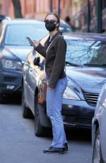 LILY-ROSE DEPP Out and About in New York 04/08/2021