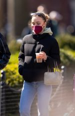 LILY-ROSE DEPP Out for Coffee in New York 04/05/2021