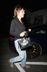 LISA RINNA Night Out in Los Angeles 04/28/2021