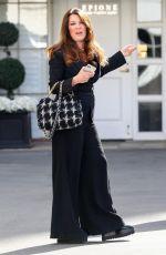 LISA VANDERPUMP Leaves Epione Skin Care Clinic in Beverly Hills 04/15/2021