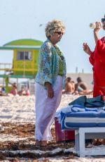 LIV TYLOR at a Beach in Miami 04/18/2021