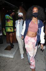 LIZZO, KEHLANI and SZA Leaves Nice Guy in Los Angeles 04/21/2021