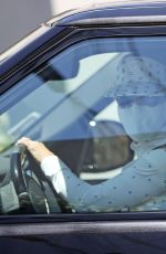 LORI LOUGHLIN Out Driving in Los Angeles 04/28/2021