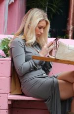 LOTTIE MOSS Out and About in New York 04/15/2021