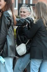 LUCY FALLON at a Pub in Blackpool 04/18/2021