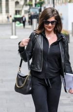 LUCY HOROBIN Arrives at Her Heart Dance Show in London 04/21/2021