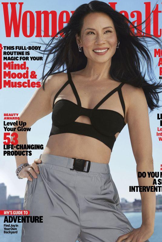 LUCY LIU in Women's Health Magazine, May 2021