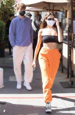 MADISON BEER at Il Pastaio in Beverly Hills 04/05/2021