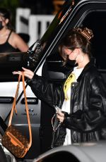 MADISON BEER Out for Dinner in Malibu 04/22/2021