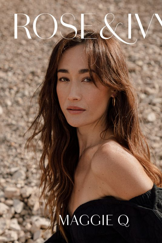 MAGGIE Q for Rose & Ivy Journal, April 2021