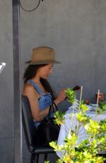 MAGGIE Q Out for Lunch at Crossroads in West Hollywood 04/02/2021