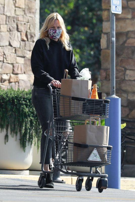 MALIN AKERMAN Out Shopping in Los Feliz 04/02/2221