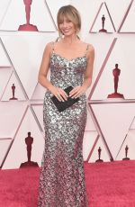 MARGOT ROBBIE at 93rd Annual Academy Awards in Los Angeles 04/25/2021