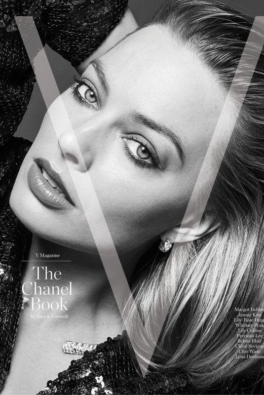 MARGOT ROBBIE for V Magazine, The Chanel Book by Inez & Vinhood 2021