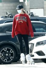 MARGOT ROBBIE Out Rollerblading at a Beach in Malibu 04/18/2021
