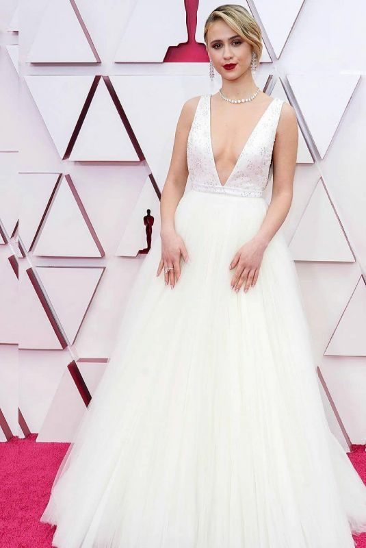 MARIA BAKALOVA at 93rd Annual Academy Awards in Los Angeles 04/25/2021
