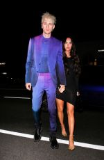 MEGAN FOX and Machine Gun Kelly at The Nice Guy in West Hollywood 04/08/2021