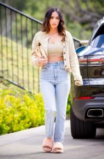 MEGAN FOX Out and About in Los Angeles 04/01/2021